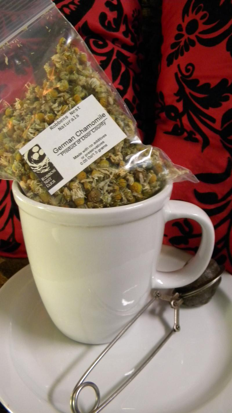 Door County Organically Grow German Chamomile